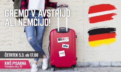 Gremo v Avstrijo ali Nemčijo!
