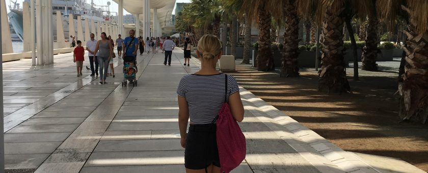 Pol leta ob morju – moja izmenjava v Málagi
