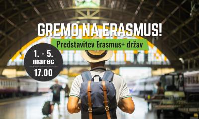 Gremo na Erasmus!